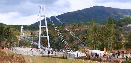 日本一の大吊橋!