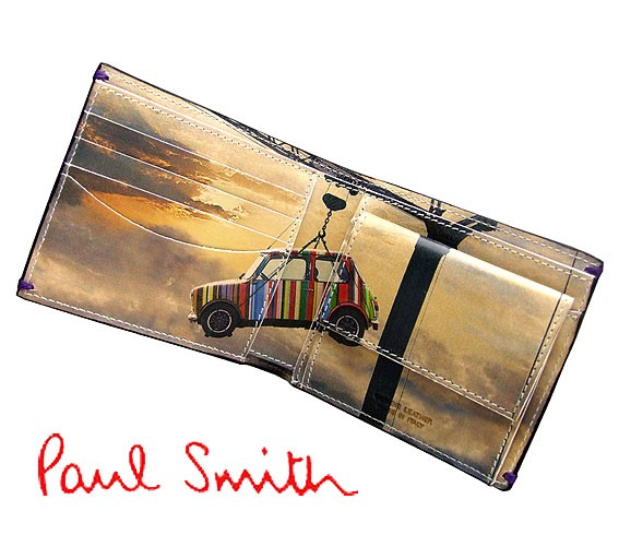 ポールスミス ミニクーパー 財布