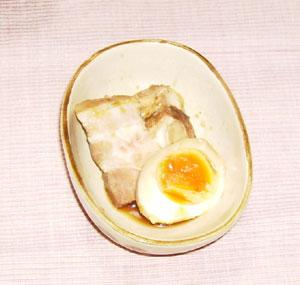煮豚+味玉
