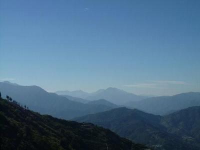 台湾の山々
