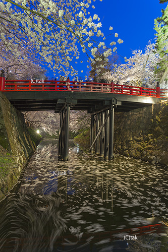 下乗橋夜景
