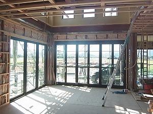 鉄骨造の家 内部造作