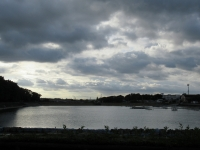 保田ヶ池の雲