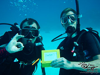 Congratulations! PADI Open water diver!