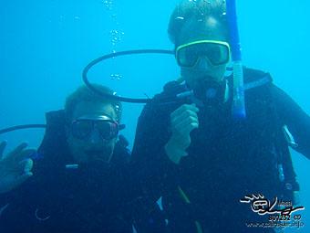 Congratulations! PADI Open & Advanced open water diver!