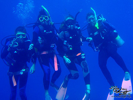 Congratulations on all of Open Water Divers!