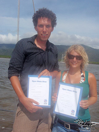 Congratulations at Great Barrier Reef!