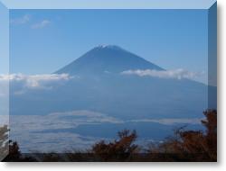 芦ノ湖スカイラインからの富士山