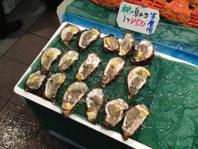 舞鶴 とれとれセンター 牡蠣