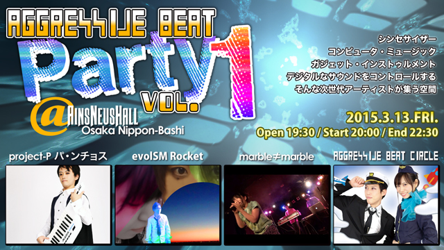 Aggressive Beat Party vol.1