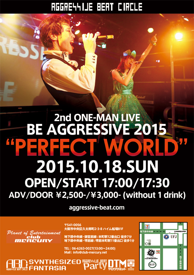 BE AGGRESSIVE 2015 PERFECT WORLD