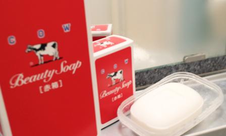 赤箱〜牛乳せっけん