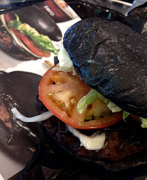 black diamond burger