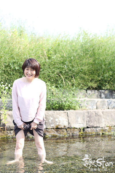 美和子さん湧水600.jpg
