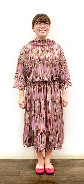 涼やか&軽やかなギャザースカートが椿ラボ京都でも♪