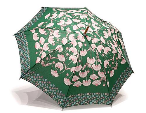 晴雨兼用傘ロング・松虫草グリーンが再入荷&プチリニューアル!