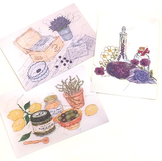 さか井美ゆきさんポストカード、人気の絵柄が再入荷致しました。