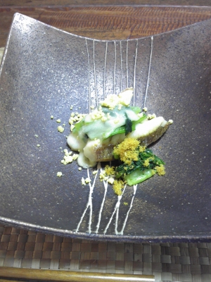 桜鯛のチーズ焼き