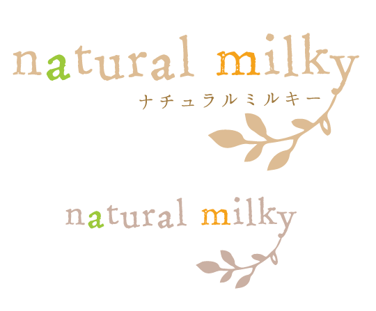 natural milky様ロゴ