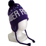TOWER RECORDS「Ear-flap beanie パープル」