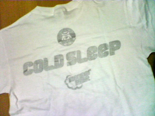 Cold Sleep Tシャツ