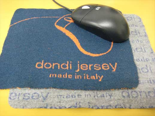 jersey mouse pad