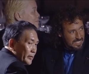 塩田大介氏・妻川崎由美子夫人の結婚披露舞踏会にきた神取忍、ラモスルイ、小林興起