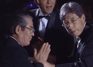 塩田大介氏・妻川崎由美子夫人の結婚披露舞踏会にきたアナウンサー風のあまり有名じゃない人