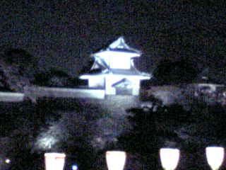 石川門ライトアップ