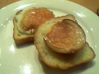 スカモルツァチーズのトースト