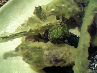 たらの芽とぜんまいの天ぷら