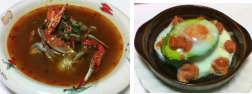 ワタリ蟹スープ