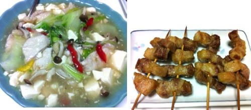 鶏肉と豆腐煮込み