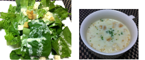カニクリームスープ
