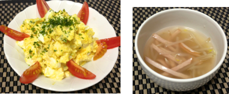 卵ポテトサラダ