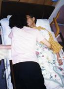 母の添い寝