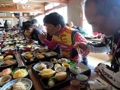 岩城島 「でべそおばちゃんの店」 第7回タンデム自転車まつりinしまなみ海道の様子