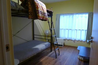 大三島ゲストハウスオハナのベッドルーム