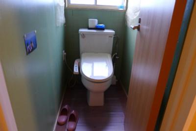 大三島ゲストハウスオハナのトイレ