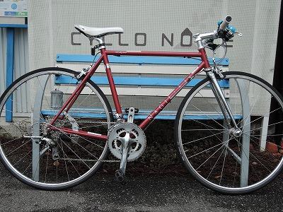 尾道ブランドの凪・フラットバーロードバイク