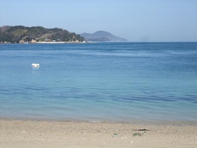しまなみ海道大島の海の景色