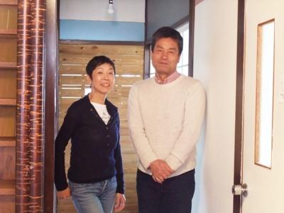 ゲストハウス「くめちゃんハウス」のオーナーSEKIさん夫妻