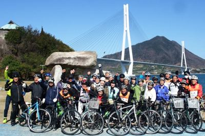 しまなみ海道大三島・北側一周サイクリング