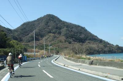 しまなみ海道大三島・北側一周サイクリング外周ルート