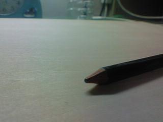 木板と鉛筆
