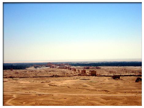 アラブ城から