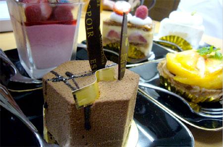 エスポワールのケーキ
