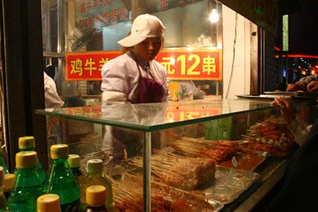 中国で人気の串