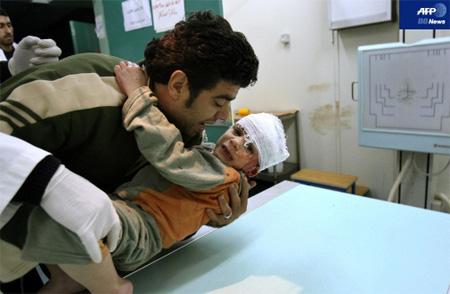 パレスチナ ガザ空爆 子供