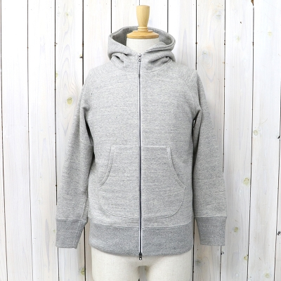 『RAFFY ZIP PARKA』(GRAY)